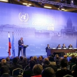 UNODC Executive Director Yury Fedotov at the opening of the Sixth session of the Conference of the States Parties to the United Nations Convention against Corruption in St. Petersburg, Russia, 2-6 November 2015. Photo: UNIS Vienna