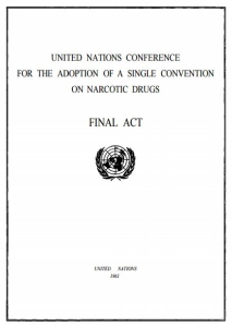 1961 Single Convention on Narcotic Drugs