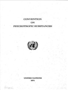 1971 Convention on Psychotropic Substances