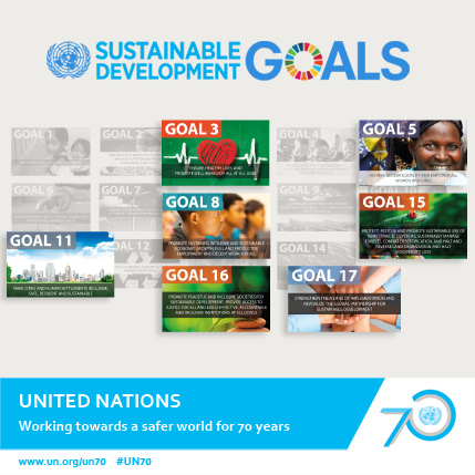 The Sustainable Development Goals and UNODC.