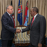 UNODC Executive Director Yury Fedotov met Kenyan President Uhuru Kenyatta, attended the Sixth Tokyo International Conference on African Development (TICAD VI), and launched UNODC's new regional programme for Eastern Africa during a four-day visit to Nairobi, which concluded today. Photo: UNODC