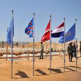 Foundation stone-laying ceremony for the future Mogadishu Prison and Court Complex (MPCC). Photo: UNODC