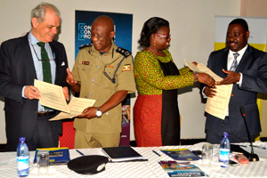 Uganda joins the Container Control Programme. Photo: UNODC