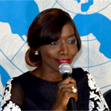 UNODC's Regional Office for West and Central Africa recently appointed a Goodwill Ambassador against trafficking in persons and smuggling of migrants - Senegalese singer and activist Coumba Gawlo Seck. Photo: UNODC