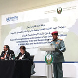 Abu Dhabi: efforts to improve law enforcement and response to crime in MENA region supported by UNODC Photo:UNODC