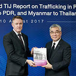 New UNODC report sheds light on the phenomenon of human trafficking into Thailand. Image: UNODC
