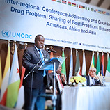 UNODC, Kenya hold inter-regional conference to counter the world drug problem. Photo: UNODC