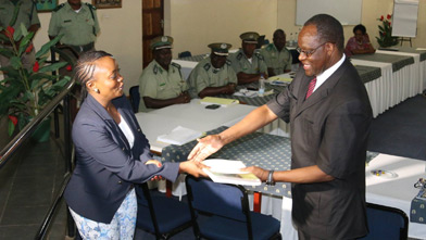 The Correctional Service convened a high-level consultative meeting, in December 2016, in Zambia. Photo: UNODC
