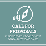 E4J call for proposals: funding for the development of non-electronic games