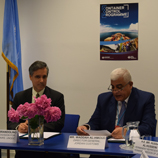 UNODC and Jordan sign Memorandum of Understanding to combat illicit trade. Image: UNODC