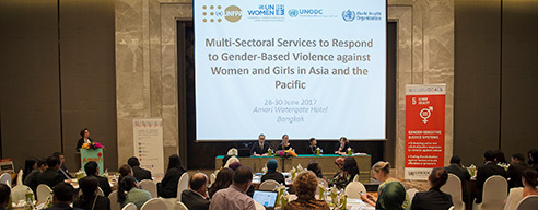 UNODC joins United Nations entities to strengthen multi-sectoral response to end gender-based violence against women and girls in Asia-Pacific