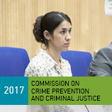 UNODC Goodwill Ambassador Nadia Murad raises her voice to make world listen about human trafficking crimes. Photo: UNODC