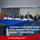COSP7: Opportunity to showcase government-civil society cooperation in the UNCAC review. Image: UNODC