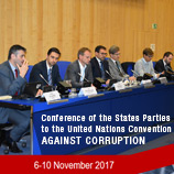 COSP7 event on sports corruption looks to international organizations for answers. Photo: UNODC