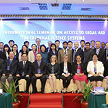 UNODC, China Hold Cross-Regional Seminar on Legal Aid in Criminal Justice Systems. Photo: UNODC