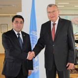 UNODC and Uzbekistan sign cooperative agreement to combat crime in all its forms. Image: UNODC