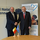 Belgium announces EUR 2 million contribution to United Nations Trust Fund for Victims of Human Trafficking, managed by UNODC