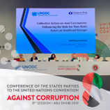 UNODC co-hosts event on collective action initiatives against corruption in Southeast EuropeUNODC co-hosts event on collective action initiatives against corruption in Southeast Europe
