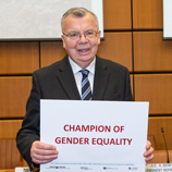 Heads of Vienna-based UN organizations call on men to actively promote gender equality