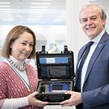 UNODC donates drug identification technology to Mexico to help combat the global threat of synthetic drugs in the region