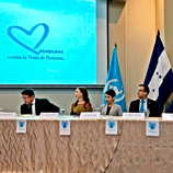 Honduras joins UNODC Blue Heart Campaign against human trafficking