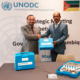 UNODC and Mozambique discuss Strategic Roadmap against Crime, Drugs and Terrorism