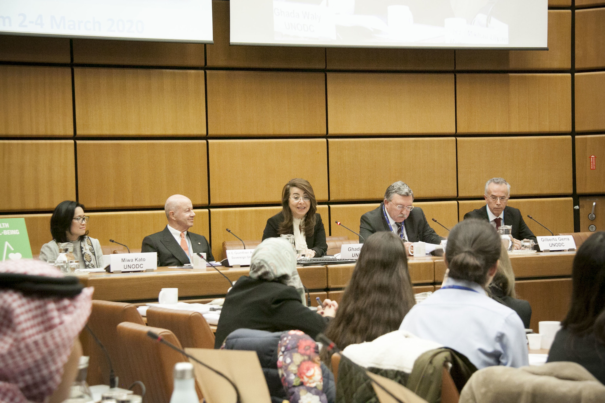 UNODC provides Youth with platform to explore solutions to the world drug problem © Photo: UNODC