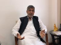 "UNODC Conversations: Nobel Peace Laureate Kailash Satyarthi Urges Citizens, Governments to ""Act Together"" to End Human Trafficking"