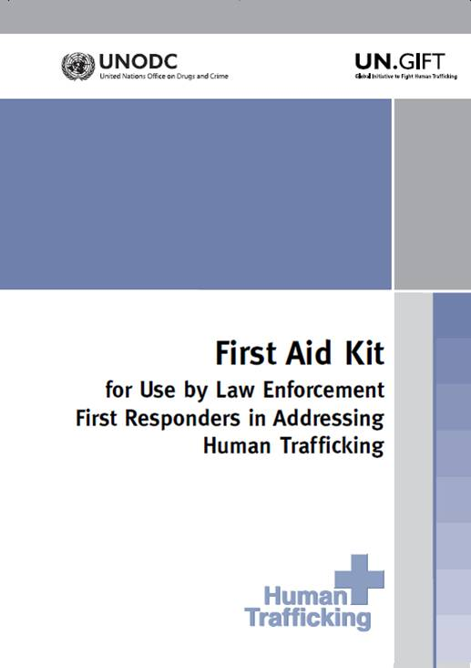 First Aid Kit for Use by Law Enforcement Responders in