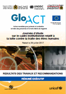 GLO.ACT Morocco TIP Legislation Workshop Report Executive Summary - July 2017