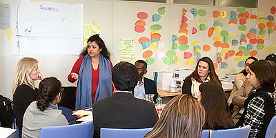 UNODC Internal SOM Training - Binija Goperma shares Nepal experience