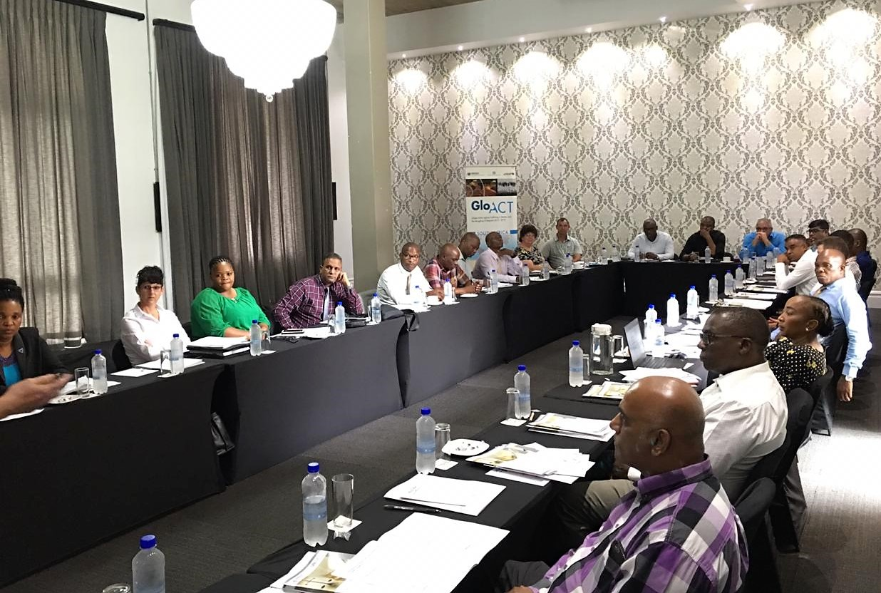 Glo Act Trains Police Officers In South Africa On Combatting Human Trafficking