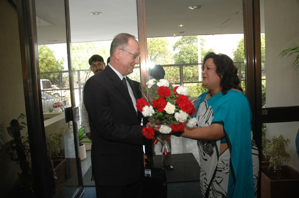 Welcomed at ROSA Office by Ashita Mittal