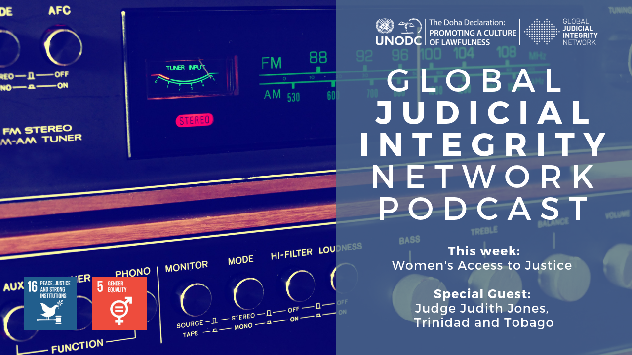 Advancing justice - and gender equality - through the Global Judicial Integrity Network