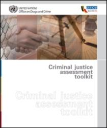 Criminal justice assessment toolkit