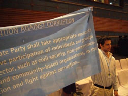 Art. 13 of UNCAC, on the participation of civil society