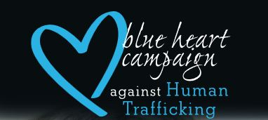 blue heart campaign against human trafficking