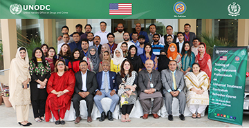 UNODC's UTC Journey in Pakistan