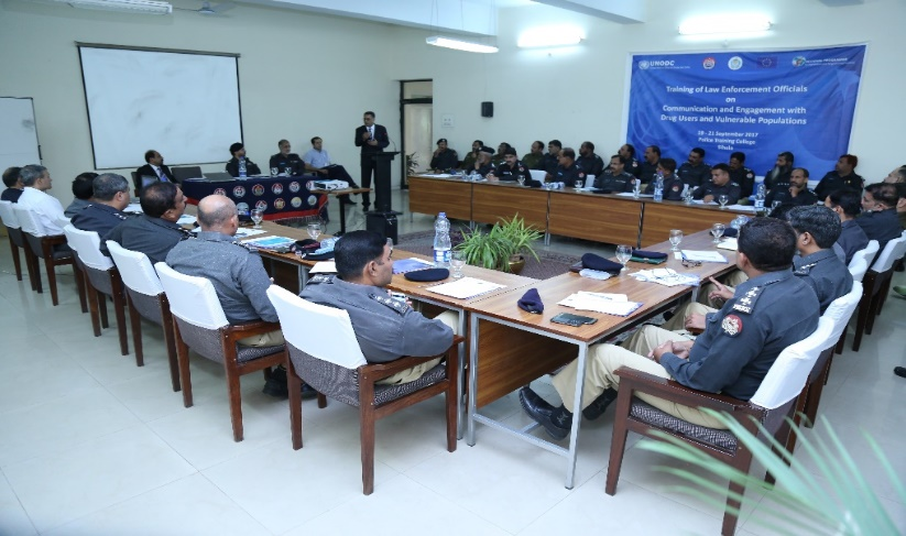 National Training of Police Officers on UNODC Toolkit for