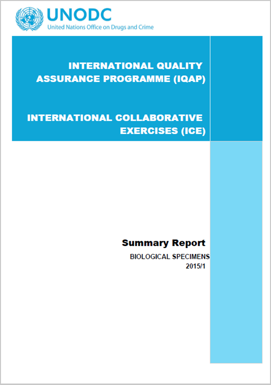 International-collaborative-exercises-ice-2015-round-1-summary-report---biological-specimens