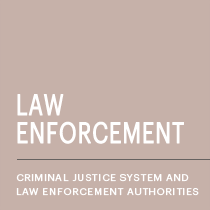 Criminal justice system and law enforcement authorities