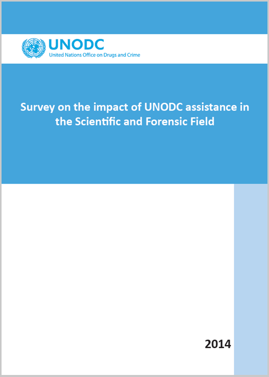 Survey on impact of UNODC assistance - 2014