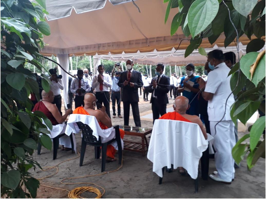 Sri Lanka: Ground-breaking of new voluntary drug rehabilitation centre