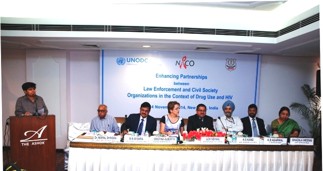 India: Law enforcement officials, health service providers