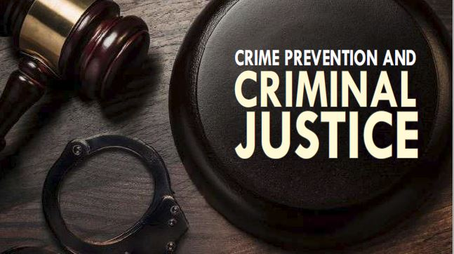 Crime Prevention and Criminal Justice