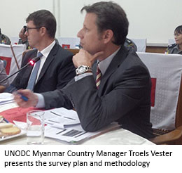Troels Vester United Nations UN UNODC Myanmar