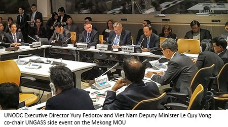 Jeremy Douglas United Nations UN UNODC, Tun Nay Soe, and Le Quy Vong