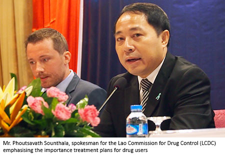 Phoutsavath Sounthala, Lao Commission for Drug Control