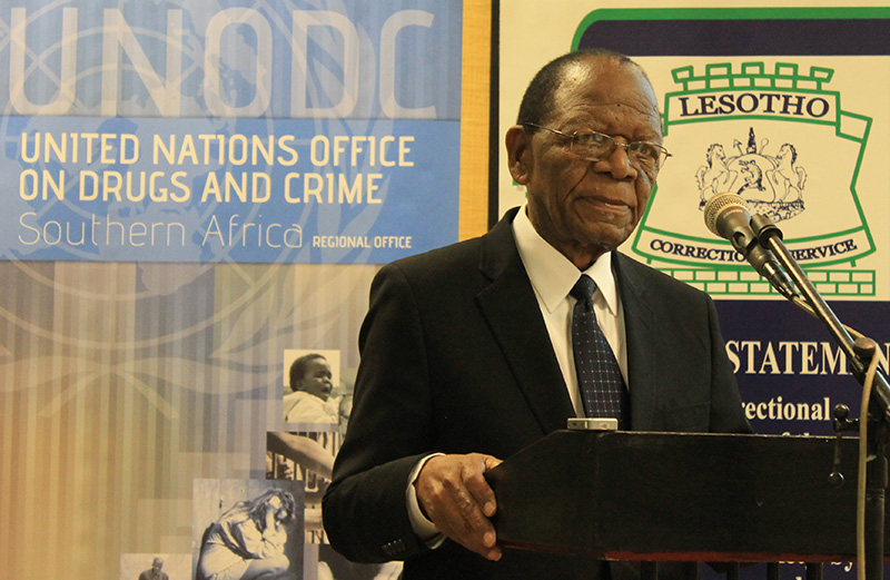 Minister of Justice and Correctional Services - Lesotho