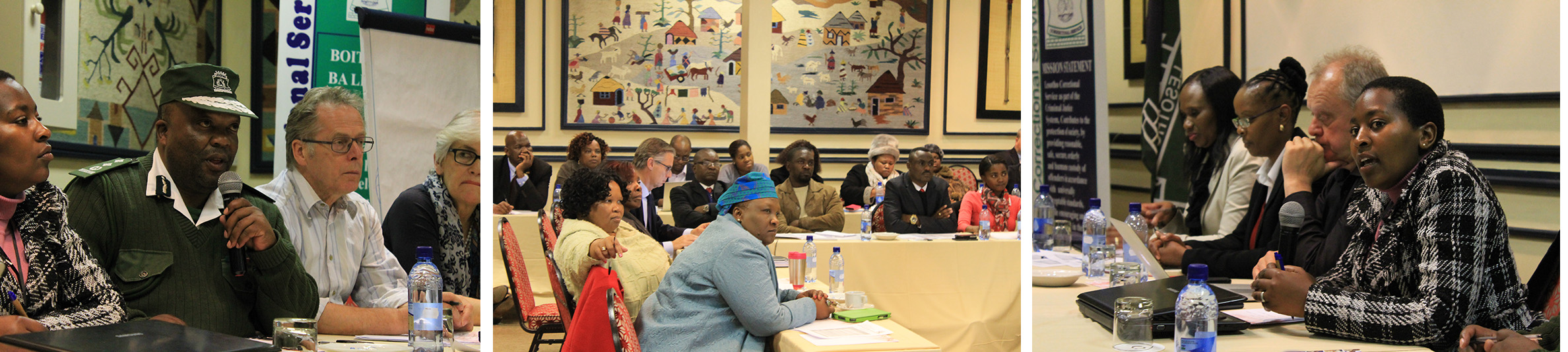 Experts at UNODC HIV Prevention in Prisons Meeting - Lesotho